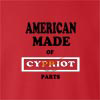 American Made Of Cyprus Parts crew neck Sweatshirt