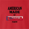 American Made Of Czech Republic Parts crew neck Sweatshirt