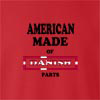 American Made Of Denmark Parts crew neck Sweatshirt