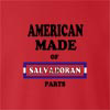 American Made Of EL Salvador  Parts crew neck Sweatshirt