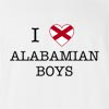 I Love Alabama Boys T-Shirt