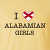 I Love Alabama Girls T-Shirt