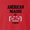 American Made Of Jersey Parts crew neck Sweatshirt