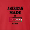 American Made Of Jordan Parts crew neck Sweatshirt