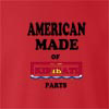American Made Of Kiribati Parts crew neck Sweatshirt
