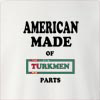 American Made Of Turkmenistan Parts Crew Neck Sweatshirt