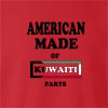 American Made Of Kuwait Parts crew neck Sweatshirt