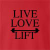 Live Love Lift Crew Neck Sweatshirt