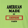 American Made of China Parts Long Sleeve T-Shirt
