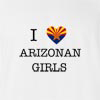 I Love Arizona Girls T-Shirt