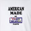 American Made Of Virgin Islands UK Parts Long Sleeve T-Shirt