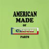 American Made of Czech Republic Parts Long Sleeve T-Shirt