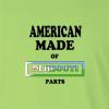 American Made of Dijibouti Parts Long Sleeve T-Shirt