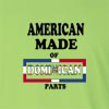 American Made of Dominican Republic Parts Long Sleeve T-Shirt