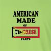 American Made of East Timor Parts Long Sleeve T-Shirt