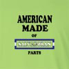American Made of EL Salvador Parts Long Sleeve T-Shirt