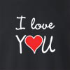 I Love You Crew Neck Sweatshirt
