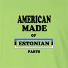 American Made of Estonia Parts Long Sleeve T-Shirt