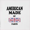 American Made Of United Kingdom Parts Hooded Sweatshirt