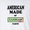 American Made Of Zambia Parts Long Sleeve T-Shirt
