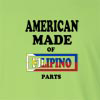American Made of Filipino Parts Long Sleeve T-Shirt