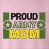 Proud Army Mom Crew Neck Sweatshirt