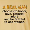 A Real Man Long Sleeve T-Shirt