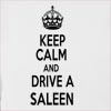 Keep Calm And Drive  A Saleen Hooded Sweatshirt
