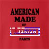 American Made Of Ajaria Parts crew neck Sweatshirt