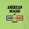 American Made of Andorran Parts Long Sleeve T-Shirt