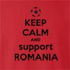 Keep Calm And Support Romania crew neck Sweatshirt