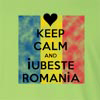 Keep Calm And Iubeste Romania Long Sleeve T-Shirt