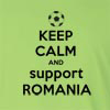 Keep Calm And Support Romania Long Sleeve T-Shirt