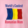 World's Coolest Romanian Mom Crew Neck Sweatshirt