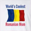 World's Coolest Romanian Mom Long Sleeve T-Shirt