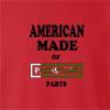American Made Of Pakistan Parts crew neck Sweatshirt