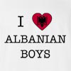 I Love Albania Boys T-Shirt