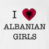 I Love Albania Girls T-Shirt