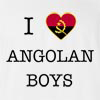 I Love Angola Boys T-Shirt