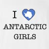 I Love Antarctica Girls T-Shirt