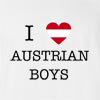 I Love Austria Boys T-Shirt