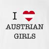 I Love Austria Girls T-Shirt