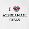 I Love Azerbaijan Girls T-Shirt