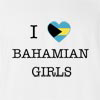 I Love Bahamas Girls T-Shirt