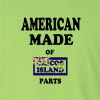 American Made of Caicoa Island Parts Long Sleeve T-Shirt
