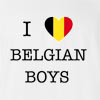I Love Belgium Boys T-Shirt