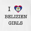 I Love Belize Girls T-Shirt