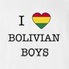 I Love Bolivia Boys T-Shirt