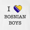 I Love Bosnia And Herzegovina Boys T-Shirt