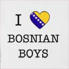 I Love Bosnia And Herzegovina Boys Hooded Sweatshirt